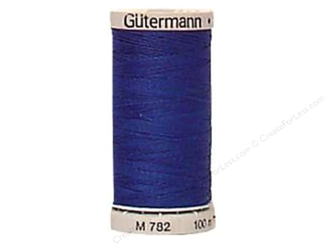 Gutermann Extra Strong Polyester Upholstery Thread 109 yd. Royal Blue