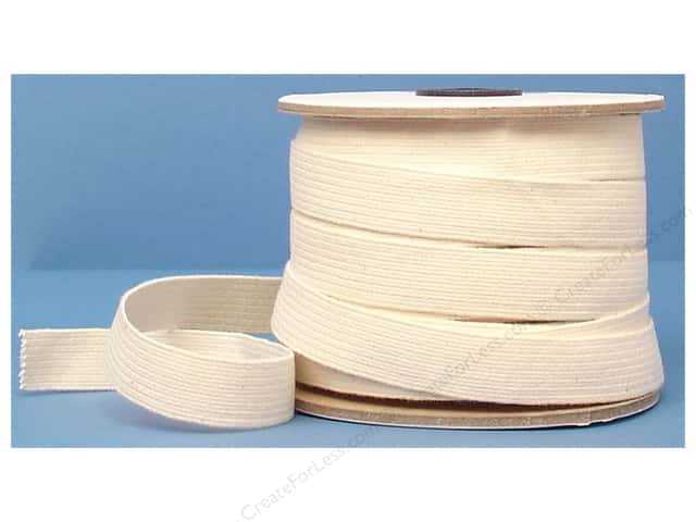 Conrad Jarvis Cotton Swim Elastic Reel 3/4 in x 30 yd Natural (30 yards)