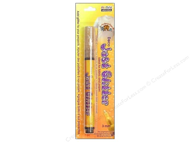 Uchida Deco Just Glitter Pen Carded Gold