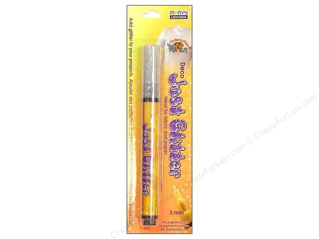 Uchida Deco Just Glitter Pen Silver