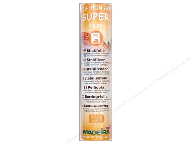 Madeira Stabilizer Cut Away Super Film 5.5 yd