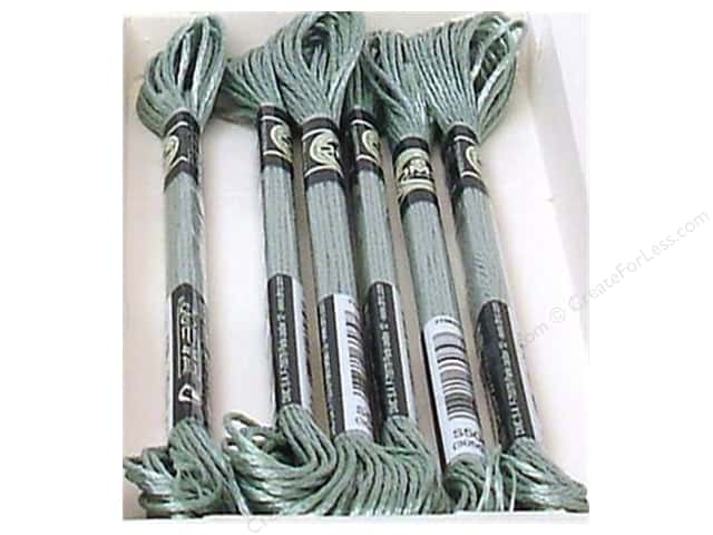 DMC Satin Embroidery Floss #S504 Rosemary Green