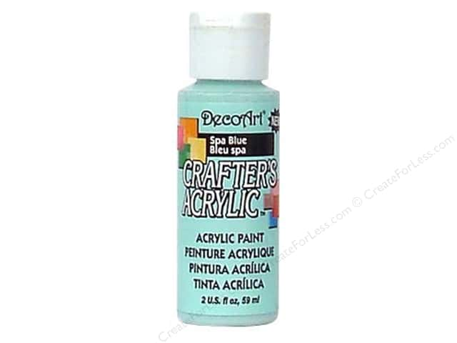 DecoArt Crafter's Acrylic Paint 2 oz. #114 Spa Blue