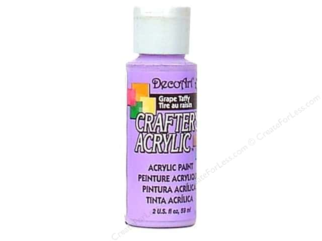 DecoArt Crafter's Acrylic Paint 2 oz. #122 Grape Taffy