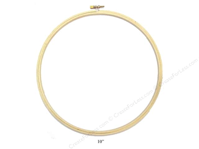 Darice Wood Embroidery Hoop 10 in.