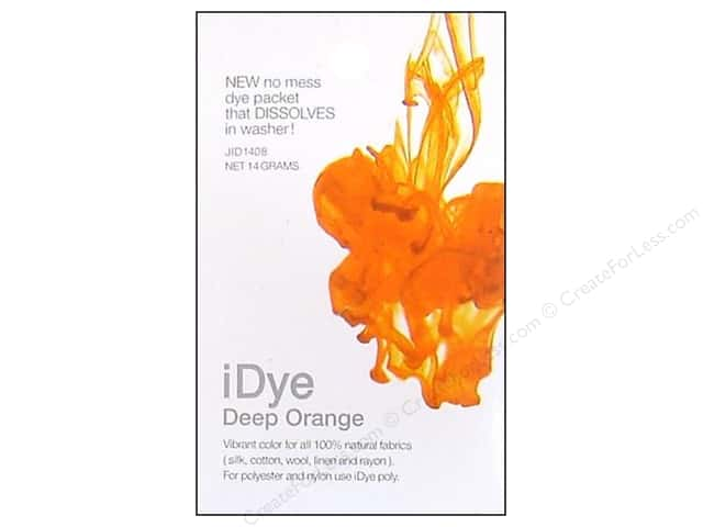 Jacquard iDye for Natural Fabrics Deep Orange