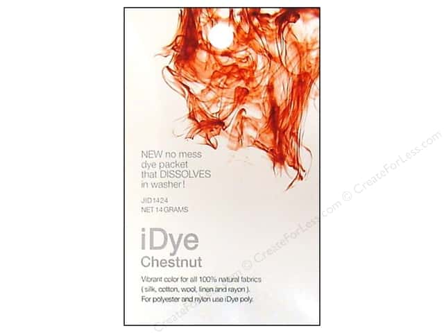 Jacquard iDye Natural Fabrics Chestnut 14 grams