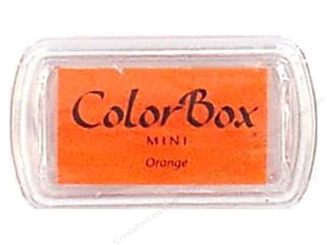 ColorBox Pigment Ink Pad Mini Size Orange