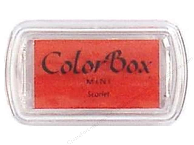 ColorBox Pigment Ink Pad Mini Size Scarlet