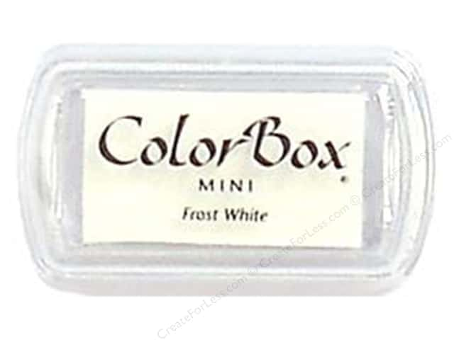 Colorbox Mini Pigment Inkpad Frost White