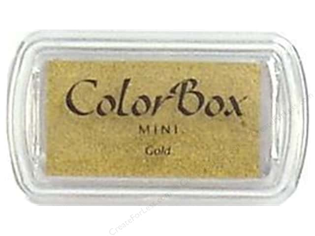 ColorBox Pigment Ink Pad Mini Size Gold