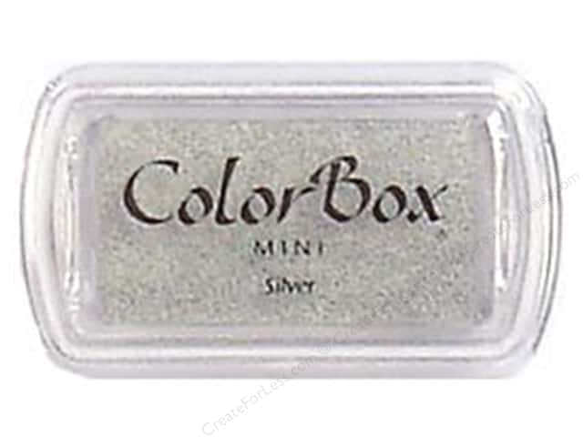 ColorBox Pigment Ink Pad Mini Size Silver