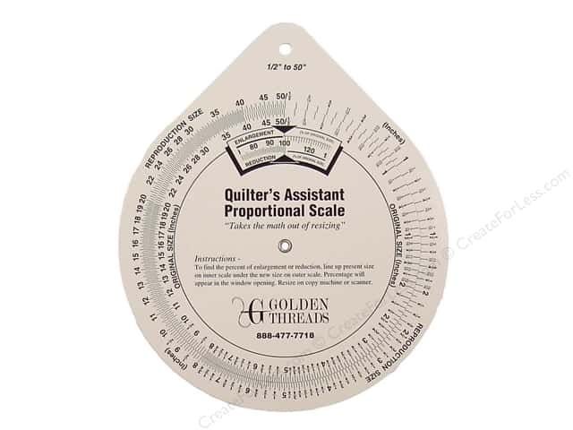 Golden Threads Proportional Scale Quilters Assistant