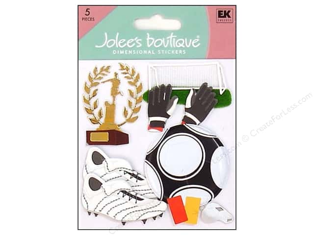 Jolee's Boutique Stickers Playing Soccer