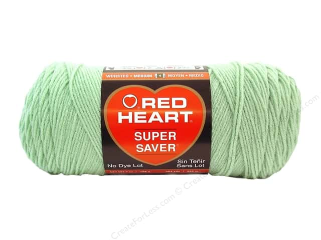 Red Heart Super Saver Yarn 364 yd. #0668 Honeydew