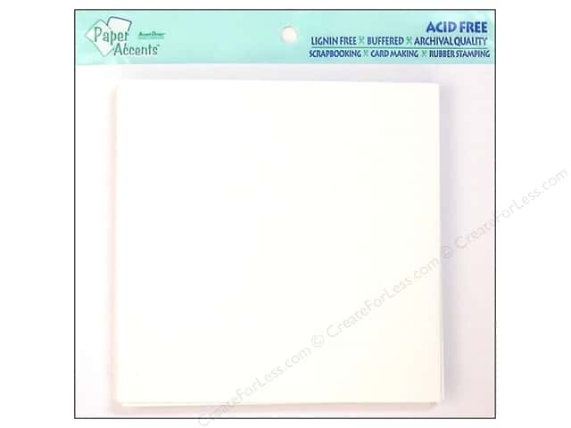 5 1/2 x 5 1/2 in. Envelopes by Paper Accents 12 pc. #128 White