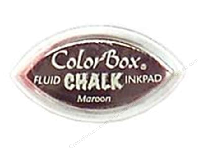 ColorBox Fluid Chalk Ink Pad Cat's Eye Maroon