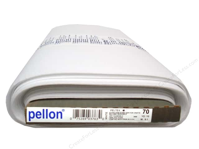 Pellon Peltex Sew-In Ultra Firm Stabilizer 20 in. x 10 yd. White (10 yards)