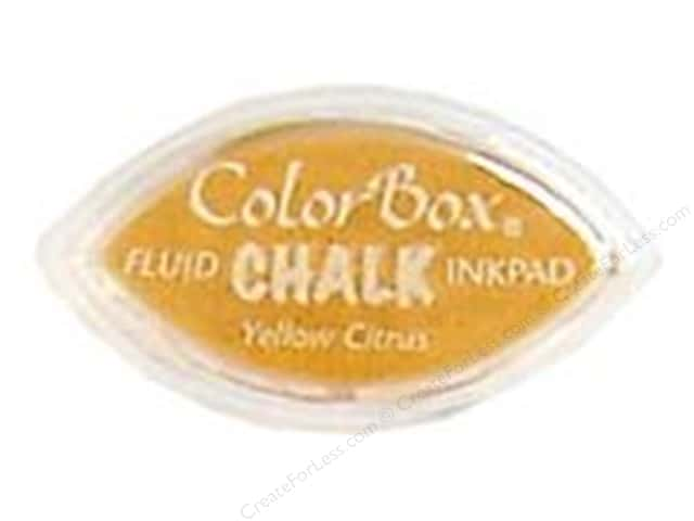 ColorBox Fluid Chalk Ink Pad Cat's Eye Yellow Citrus