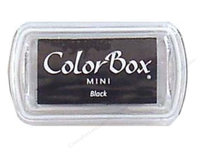 ColorBox Pigment Ink Pad Mini Size Black