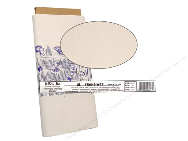 HTC Trans-Web Fusible Web 17 in. (35 yards)
