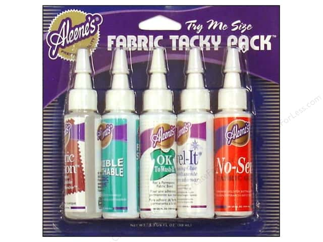 Aleene's Fabric Glue Tacky Pack 5 pc.