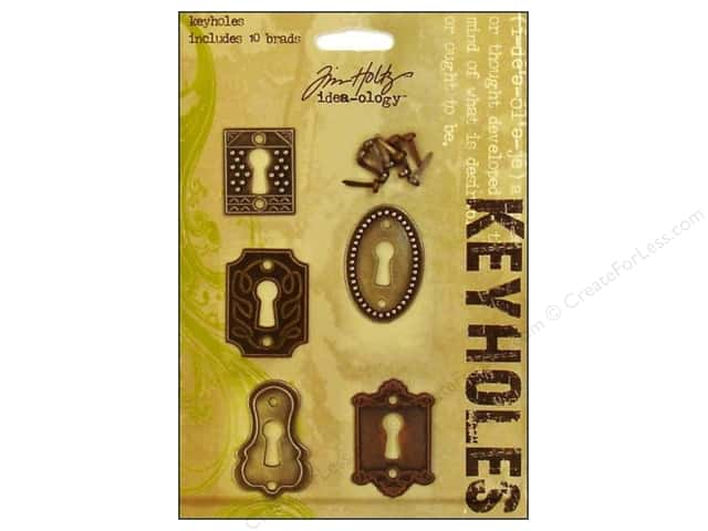 Tim Holtz Idea-Ology Keyholes 5 pc.