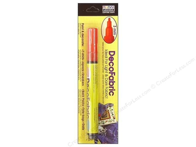 Uchida DecoFabric Paint Marker Red