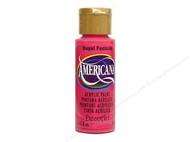 DecoArt Americana Acrylic Paint 2 oz. #151 Royal Fuchsia