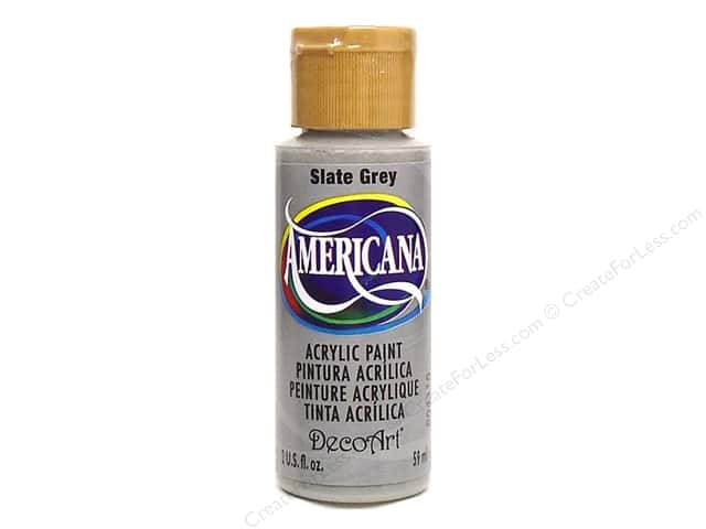 DecoArt Americana Acrylic Paint 2 oz. #068 Slate Grey