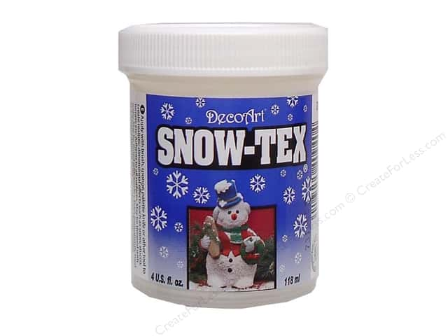 DecoArt Snow-Tex Hard Jar 4oz