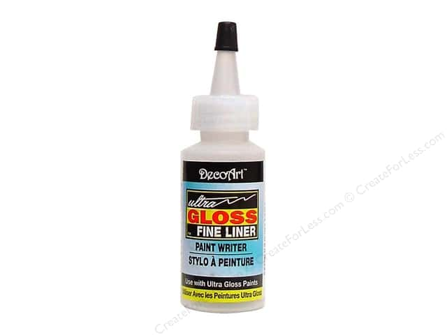 DecoArt Painting Accessories Fine Liner Bottle with Tip