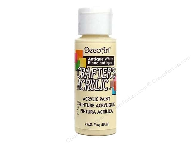 DecoArt Crafter's Acrylic Paint 2 oz. #3 Antique White