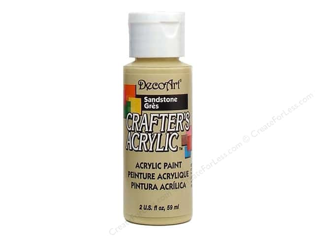 DecoArt Crafter's Acrylic Paint 2 oz. #14 Sandstone