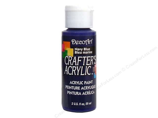 DecoArt Crafter's Acrylic Paint 2 oz. #29 Navy Blue