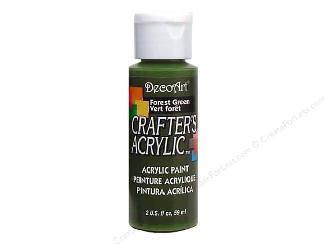 DecoArt Crafter's Acrylic Paint 2 oz. #39 Forest Green