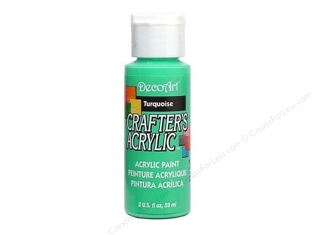 DecoArt Crafter's Acrylic Paint 2 oz. #42 Turquoise