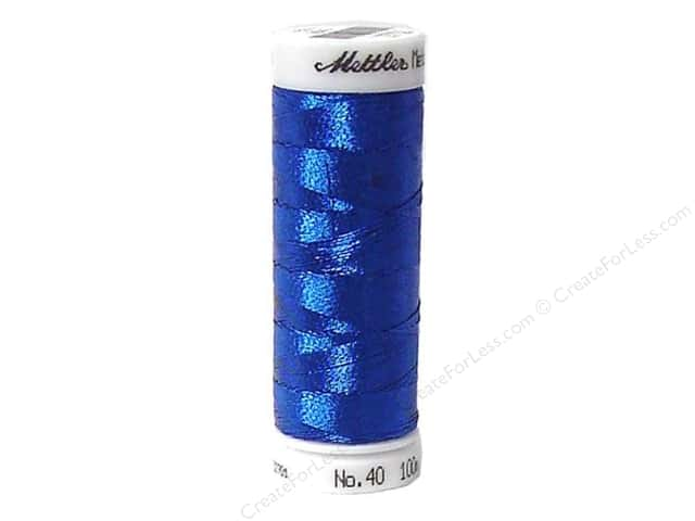 Mettler Metallic Thread 40 wt. 110 yd. #3543 Sea Topas