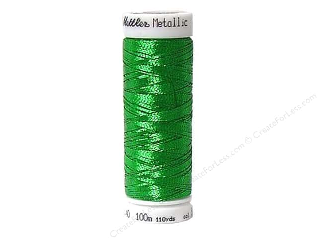 Mettler Metallic Thread 40 wt. 110 yd. #5833 Malachit