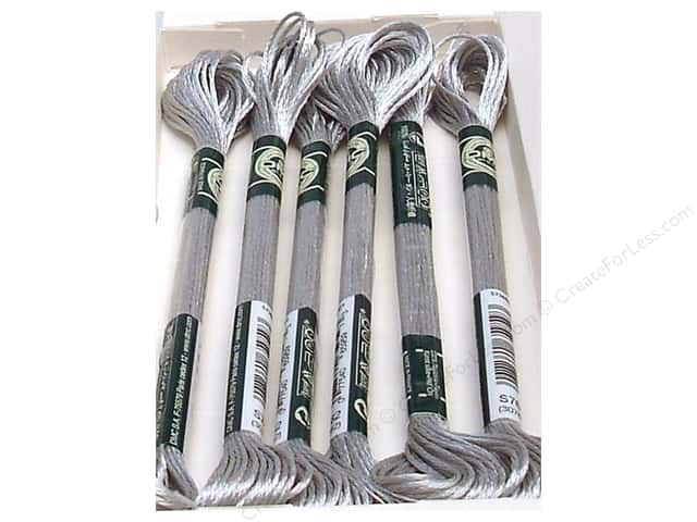DMC Satin Embroidery Floss #S762 Silver Cloud