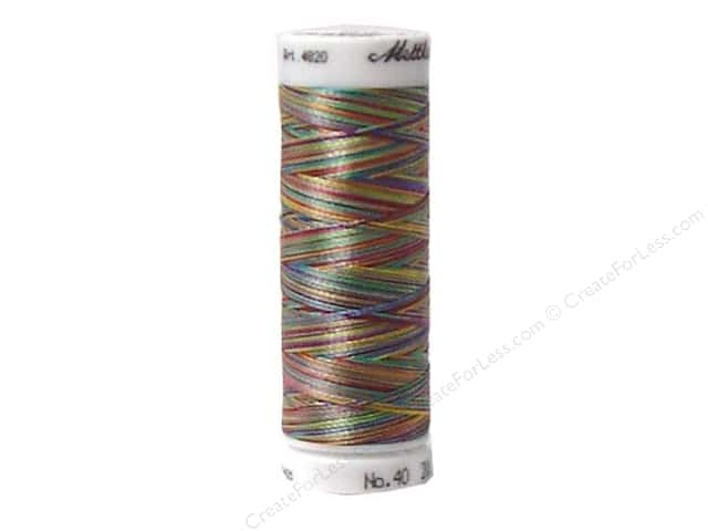 Mettler PolySheen Embroidery Thread 220 yd. #9916 Variegated Confetti