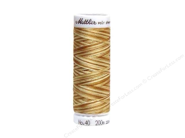 Mettler PolySheen Embroidery Thread 220 yd. #9926 Variegated Wheat Field