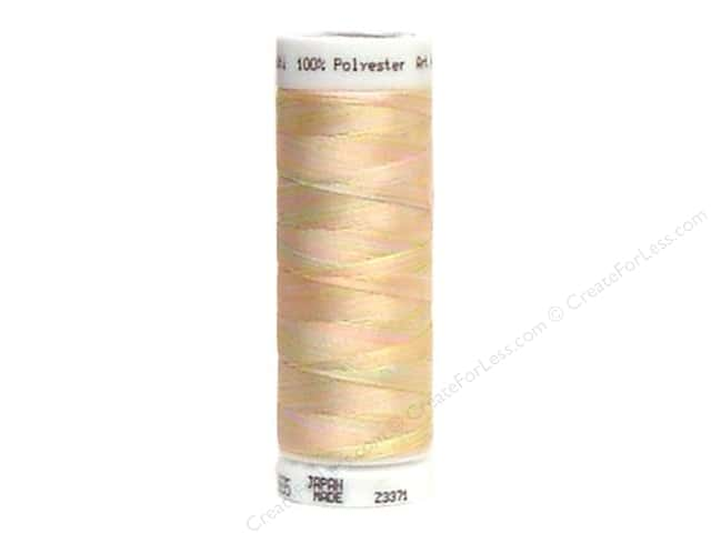 Mettler PolySheen Embroidery Thread 220 yd. #9935 Variegated Baby Girl Pastels