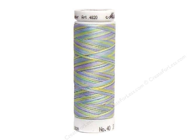 Mettler PolySheen Embroidery Thread 220 yd. #9936 Variegated Baby Boy Pastels