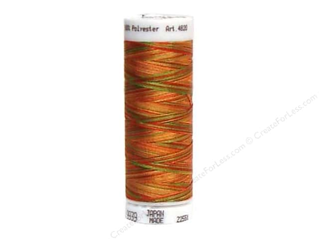 Mettler PolySheen Embroidery Thread 220 yd. #9939 Variegated Mexicana