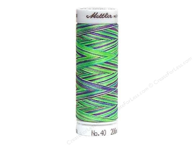 Mettler PolySheen Embroidery Thread 220 yd. #9971 Variegated Lava Lamp