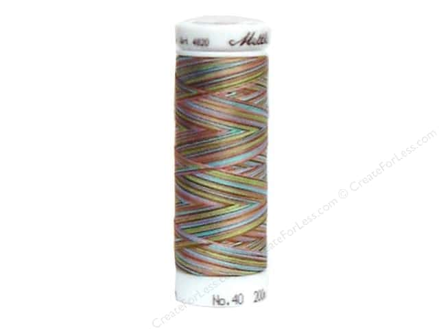 Mettler PolySheen Embroidery Thread 220 yd. #9972 Variegated Fashion