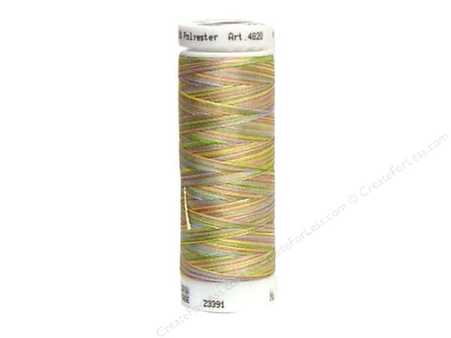 Mettler PolySheen Embroidery Thread 220 yd. #9977 Variegated Spring Fling