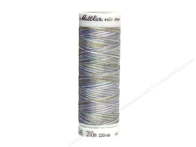 Mettler PolySheen Embroidery Thread 220 yd. #9980 Variegated Summer Shimmer