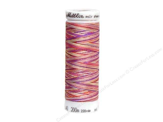 Mettler PolySheen Embroidery Thread 220 yd. #9983 Variegated Wild Flowers